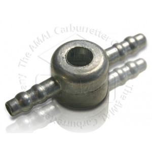"Banjo - Double 180 Degrees Metal - To suit 1/4"" fuel pipe"