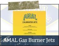 AMAL Gas Burner Jets